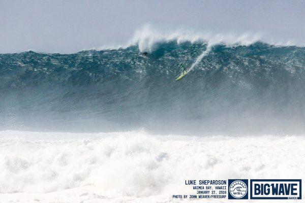 wsl big wave awars luke shepardson